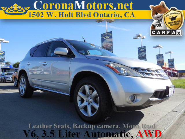2007 Nissan Murano SE AWD Silver 4-Wheel Disc Brakes AC AT ABS Adjustable Steering Wheel A