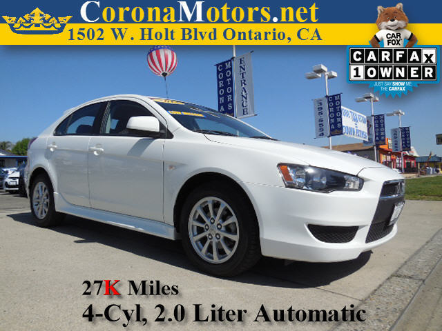 2013 Mitsubishi Lancer Sportback ES 4 Cylinder Engine AC AT ABS Adjustable Steering Wheel A