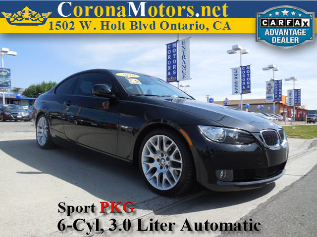 2010 BMW 3 Series 328i Black 4-Wheel Disc Brakes AC ABS Adjustable Steering Wheel Aluminum W