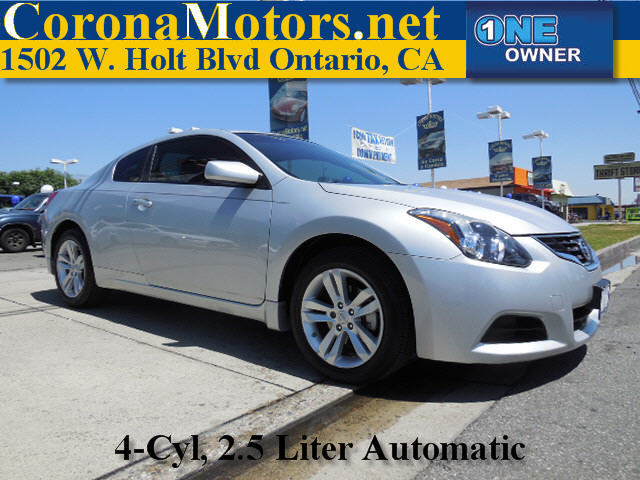 2012 Nissan Altima 25 S Silver 4 Cylinder Engine 4-Wheel Disc Brakes AC AT ABS Adjustable