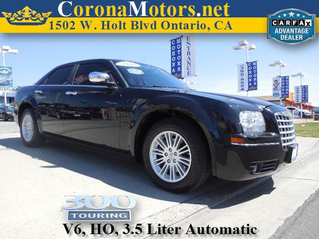2010 Chrysler 300 Touring Black 4-Speed AT 4-Wheel Disc Brakes AC AT ABS Adjustable Steer