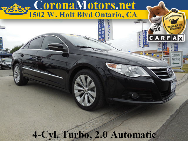 2010 Volkswagen CC Sport Black 4 Cylinder Engine 4-Wheel Disc Brakes 6-Speed AT AC AT ABS