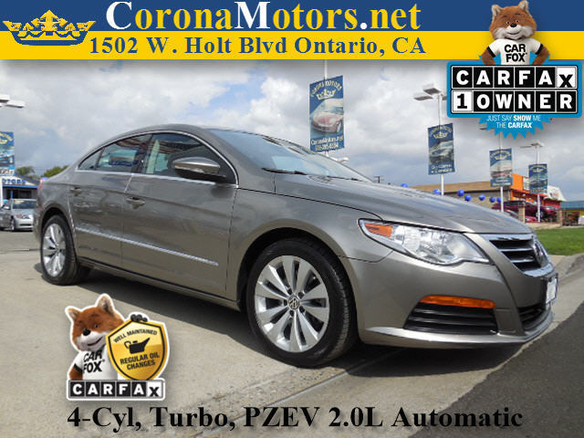 2012 Volkswagen CC Sport PZEV Gray 4 Cylinder Engine 4-Wheel Disc Brakes 6-Speed AT AC AT