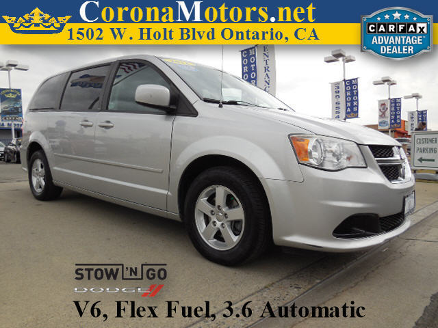 2012 Dodge Grand Caravan SXT Bright Silver Metallic 3rd Row Seat 4-Wheel Disc Brakes 6-Speed A