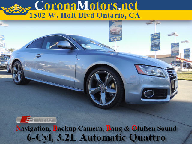 2008 Audi A5 Quattro Silver 4-Wheel Disc Brakes AC ABS Adjustable Steering Wheel All Wheel D
