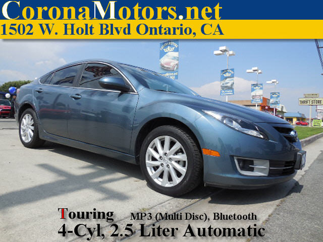 2012 Mazda Mazda6 i Touring Blue 4 Cylinder Engine 4-Wheel Disc Brakes 5-Speed AT AC AT A
