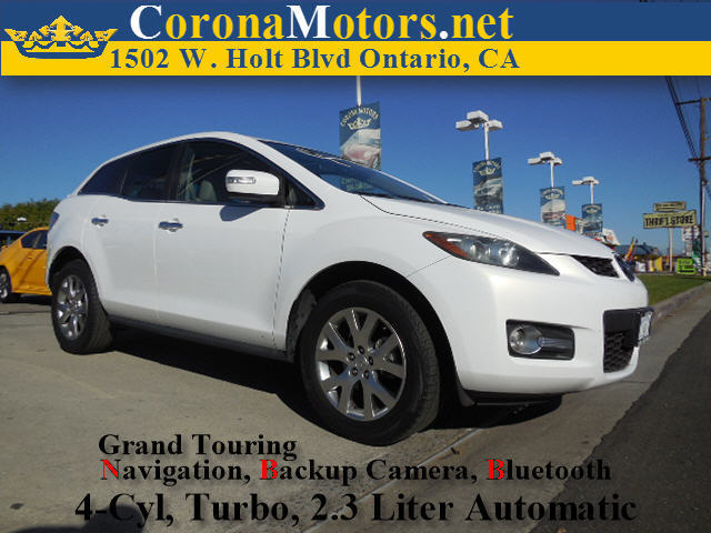 2009 Mazda CX-7 Grand Touring White 4 Cylinder Engine 4-Wheel Disc Brakes 6-Speed AT AC AT