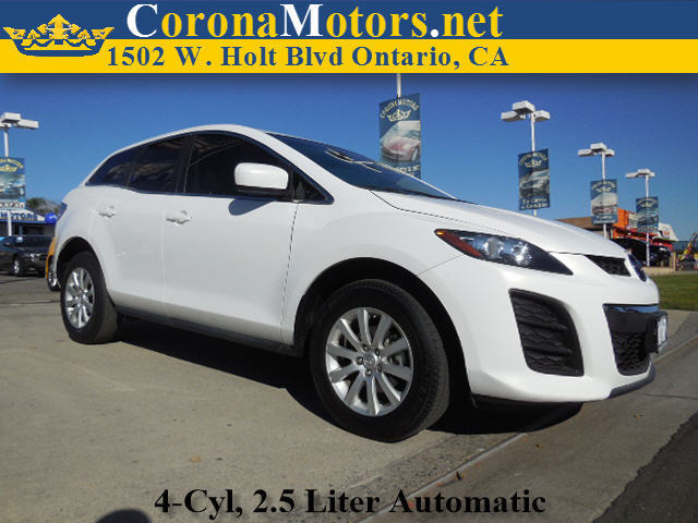 2011 Mazda CX-7 i SV White 4 Cylinder Engine 4-Wheel Disc Brakes 5-Speed AT AC AT ABS Ad