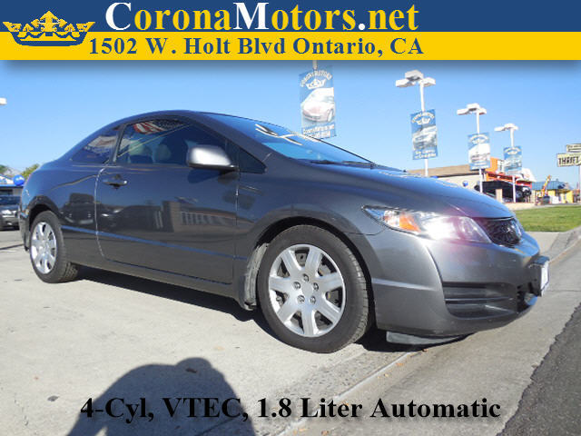 2011 Honda Civic LX Charcoal 4 Cylinder Engine 5-Speed AT AC AT ABS Adjustable Steering W