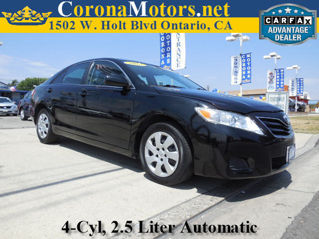2010 Toyota Camry LE Black 4 Cylinder Engine 4-Wheel Disc Brakes 6-Speed AT AC AT ABS Ad