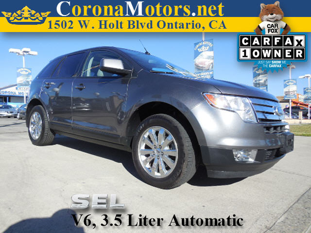 2010 Ford Edge SEL Gray 4-Wheel Disc Brakes 6-Speed AT AC AT ABS Adjustable Steering Whee