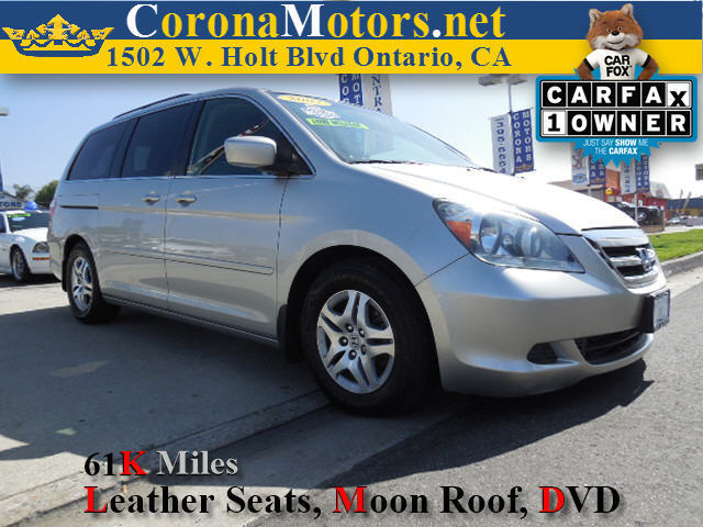 2007 Honda Odyssey EX-L Silver 3rd Row Seat 4-Wheel Disc Brakes 5-Speed AT AC AT ABS Adj