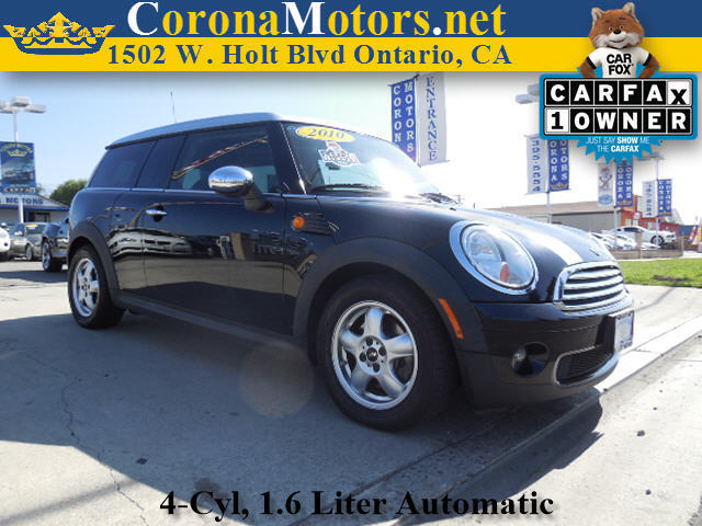 2010 Mini Cooper Clubman Midnight Black Metallic 4 Cylinder Engine 4-Wheel Disc Brakes AC ABS