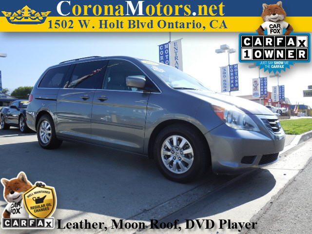 2009 Honda Odyssey EX-L Sterling Gray Metallic 3rd Row Seat 4-Wheel Disc Brakes 5-Speed AT A