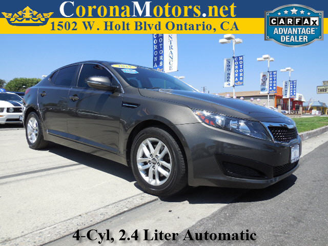 2011 Kia Optima LX Champagne 4 Cylinder Engine 4-Wheel Disc Brakes 6-Speed AT AC AT ABS