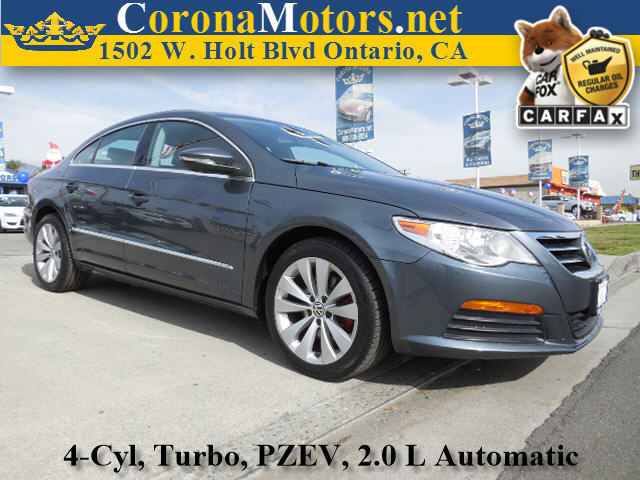 2011 Volkswagen CC Sport Charcoal 4 Cylinder Engine 4-Wheel Disc Brakes 6-Speed AT AC AT