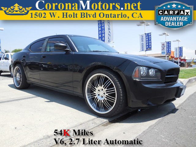 2008 Dodge Charger Dark Titanium Metallic 4-Speed AT 4-Wheel Disc Brakes AC AT Adjustable