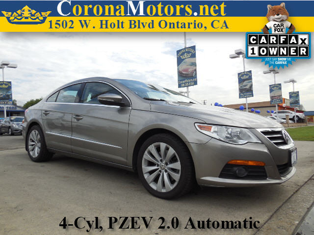 2010 Volkswagen CC Sport Gray 4 Cylinder Engine 4-Wheel Disc Brakes 6-Speed AT AC AT ABS