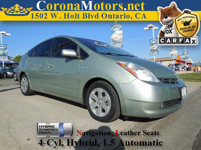 2009 Toyota Prius Touring Silver Pine Mica 4 Cylinder Engine AC AT ABS Adjustable Steering