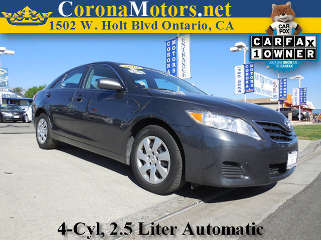 2010 Toyota Camry LE Charcoal 4 Cylinder Engine 4-Wheel Disc Brakes 6-Speed AT AC AT ABS