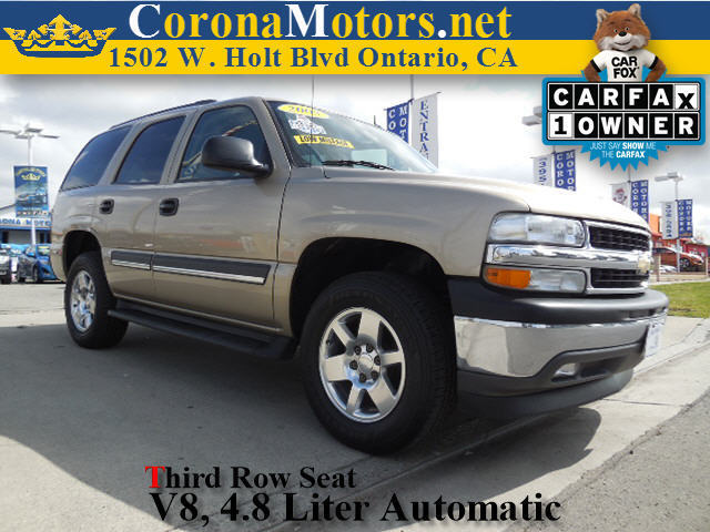 2005 Chevrolet Tahoe LS Champagne 4-Speed AT 4-Wheel Disc Brakes 8 Cylinder Engine AC AT