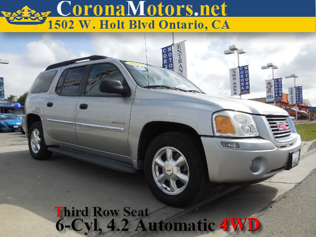 2006 GMC Envoy XL SLE Liquid Silver Metallic 3rd Row Seat 4-Speed AT 4-Wheel Disc Brakes AC
