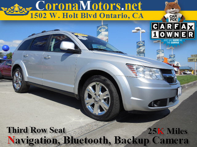 2010 Dodge Journey SXT Silver 4-Wheel Disc Brakes 6-Speed AT AC AT ABS Adjustable Steerin