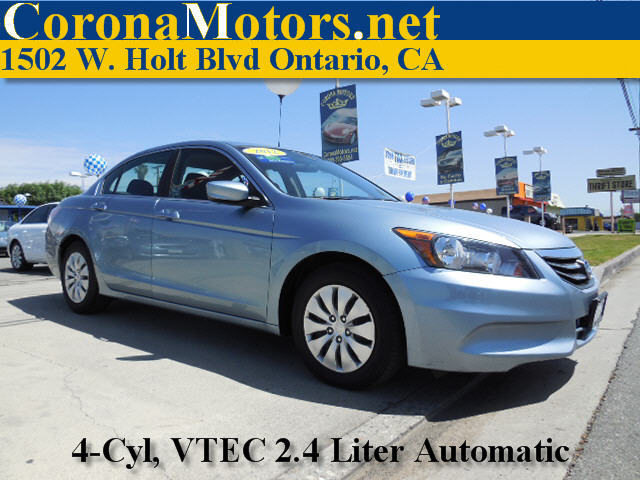 2012 Honda Accord LX Celestial Blue Metallic 4 Cylinder Engine 4-Wheel Disc Brakes 5-Speed AT