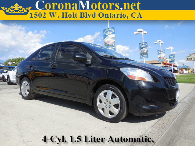 2010 Toyota Yaris Black 4 Cylinder Engine AC ABS Adjustable Steering Wheel Brake Assist Buc
