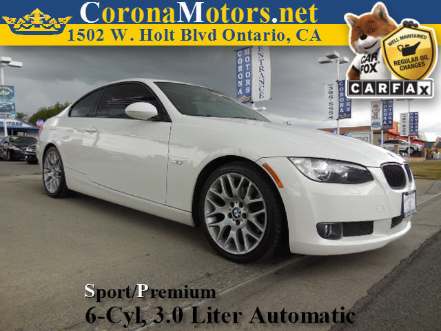 2009 BMW 3 Series 328i White 4-Wheel Disc Brakes AC ABS Adjustable Steering Wheel Aluminum W