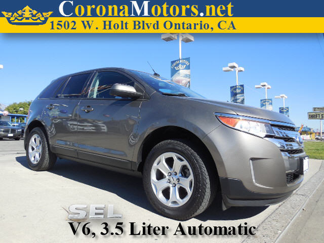 2012 Ford Edge SEL Charcoal 4-Wheel Disc Brakes 6-Speed AT AC AT ABS Adjustable Steering