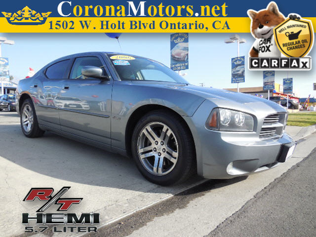 2006 Dodge Charger RT Charcoal 4-Wheel Disc Brakes 5-Speed AT 8 Cylinder Engine AC AT AB