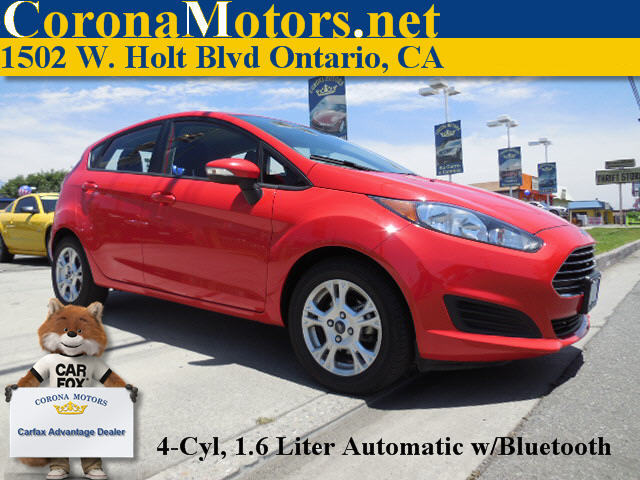 2014 Ford Fiesta SE Red 4 Cylinder Engine AC ABS Adjustable Steering Wheel AMFM Stereo Aut