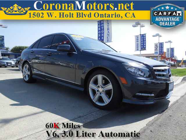 2011 Mercedes C-Class C300 Sport Charcoal 4-Wheel Disc Brakes AC ABS Adjustable Steering Whee