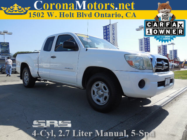 2006 Toyota Tacoma Super White 4 Cylinder Engine 5-Speed MT AC ABS Adjustable Steering Whee