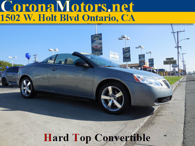 2007 Pontiac G6 GT Hard Top Convertible Blue-Gold Crystal Metallic Blue 4-Speed AT 4-Wheel Di