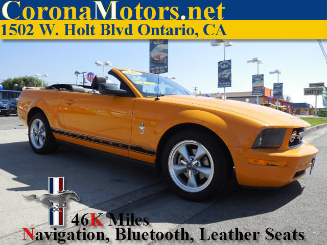2008 Ford Mustang Premium Grabber Orange Clearcoat Metallic 4-Wheel Disc Brakes AC Adjustable