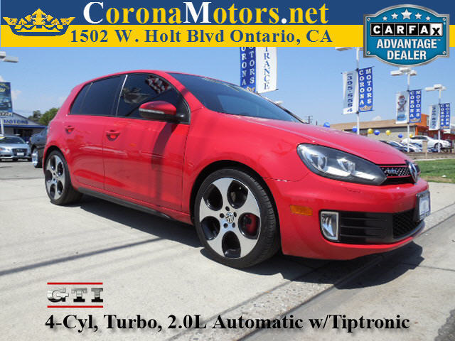 2010 Volkswagen GTI Tornado Red 4 Cylinder Engine 4-Wheel Disc Brakes 6-Speed AT AC AT AB