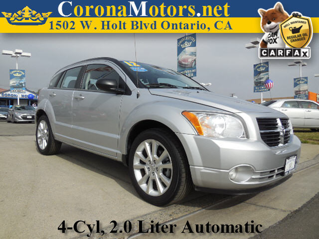 2011 Dodge Caliber Heat Silver 4 Cylinder Engine 4-Wheel Disc Brakes AC ABS Adjustable Steer
