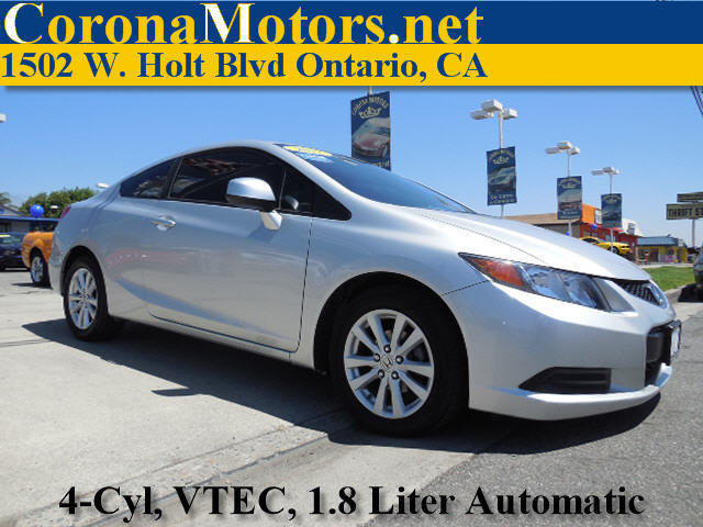2012 Honda Civic EX Coupe Silver 4 Cylinder Engine 4-Wheel Disc Brakes 5-Speed AT AC AT A