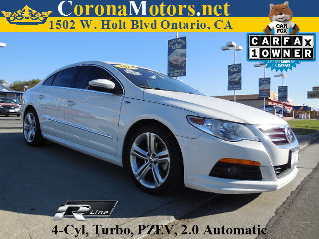 2012 Volkswagen CC R-Line PZEV Candy White 4 Cylinder Engine 4-Wheel Disc Brakes 6-Speed AT A