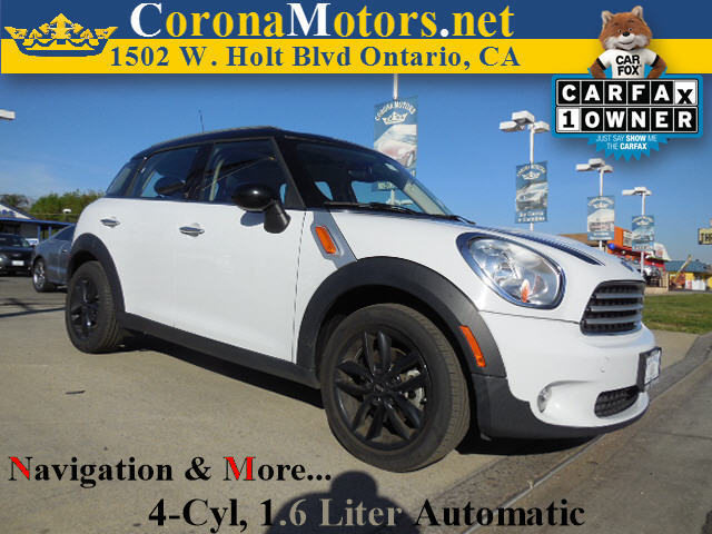2012 Mini Cooper Countryman wNavigation Light White 4 Cylinder Engine 4-Wheel Disc Brakes AC