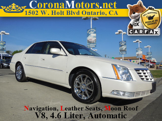 2008 Cadillac DTS w1SE White Diamond Tricoat 4-Speed AT 4-Wheel Disc Brakes 8 Cylinder Engine