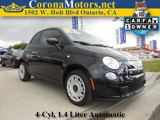 2013 Fiat 500 Pop 4 Cylinder Engine 4-Wheel Disc Brakes AC ABS Adjustable Steering Wheel AM