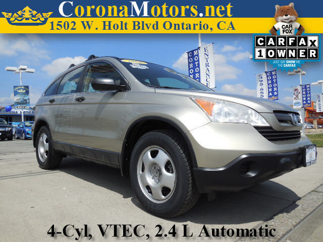 2008 Honda CR-V LX Champagne 4 Cylinder Engine 4-Wheel Disc Brakes 5-Speed AT AC AT ABS