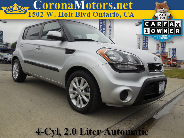 2012 Kia Soul  Silver 4 Cylinder Engine 4-Wheel Disc Brakes 6-Speed AT AC AT ABS Adjust