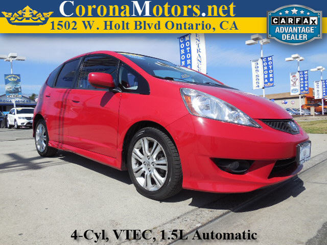 2011 Honda Fit Sport Milano Red 4 Cylinder Engine 5-Speed AT AC AT ABS Adjustable Steerin