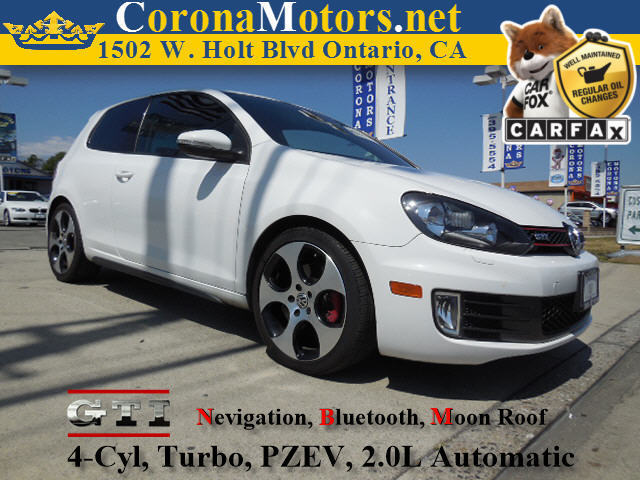 2010 Volkswagen GTI 4 Cylinder Engine 4-Wheel Disc Brakes 6-Speed AT AC AT ABS Adjustable