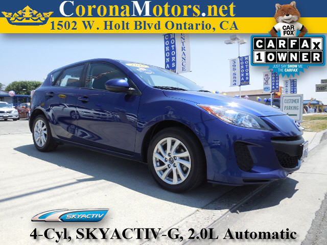 2013 Mazda Mazda3 i Touring Blue 4 Cylinder Engine 4-Wheel Disc Brakes 6-Speed AT AC AT A
