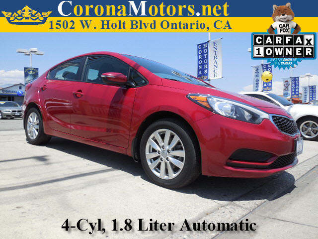 2014 Kia FORTE LX Crimson Red 4 Cylinder Engine 4-Wheel Disc Brakes 6-Speed AT AC AT ABS
